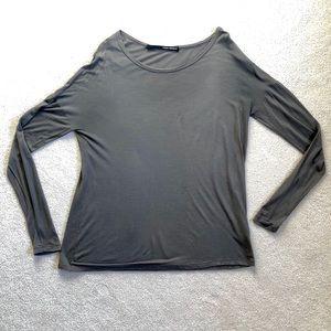 Isabel Benenato Taupe Tshirt Top.